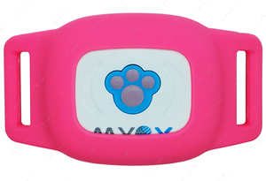 GPS ОШЕЙНИК ДЛЯ собак и котов розовый MYOX MPT-03CG