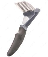 Расческа - колтунорез, для собак Grip Soft Dematting Rake