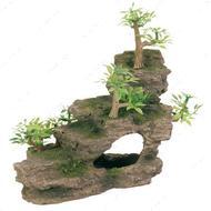 """Грот """"Каменная лестница с растениями"""""""