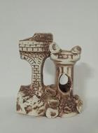 Грот керамический с колоннами