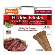 Беззерновое лакомство для собак с чувствительным желудком, вкус филе миньон Healthy Edibles