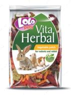 Лакомство овощная грядка для грызунов LoLo Pets HERBAL