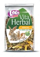 Лакомство для грызунов смесь лекарственных трав Lolopets HERBAL