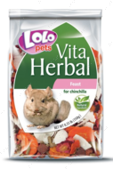 Кормовая добавка к основному корму Трапеза для шиншилл LoLo Pets VITA HERBAL Feast for CHINCHILLA