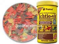 Ichtio-Vit - хлопьеобразный корм для ежедневного кормления рыб.