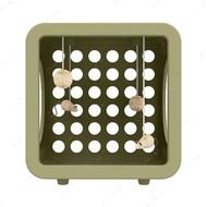 Игровой кубик для котов и кошек серо-коричневый KITTY KASA RECREATION