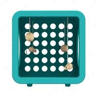 Игровой кубик для котов и кошек сине-зеленый KITTY KASA RECREATION