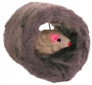 Игрушка для котов Мышка в меховом валике Trixie Play Roll