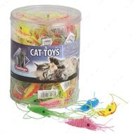 """""""PLASTIC SHRIMP"""" игрушка для кошек креветка"""