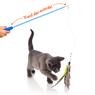Игрушка для кошек - удочка с рыбкой, перьями и с кошачьей мятой Hartz Just For Cats Kitty Caster Cat Toy