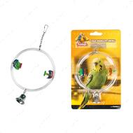 """""""CAGE HANGER SWING"""" игрушка для птиц, круглые качели с колокольчиками"""