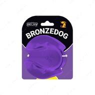 Игрушка для собак скрученный мяч фиолетовый BRONZEDOG JUMBLE