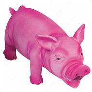 """""""SWINE PINK"""" Игрушка для собак поросенок хрюкающий розовый"""