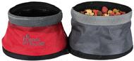 Миска для путешествий двойная Travel Double Bowl, Polyester
