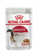 Влажный корм для кошек старше 1 года в соусе INSTINCTIVE wet in gravy