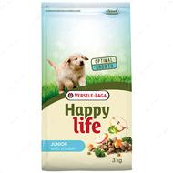 Cухой корм для щенков всех пород с курицей Happy Life Junior with Chicken