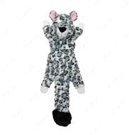 Мягкая игрушка белый леопард для собак FAT TAIL White leopard