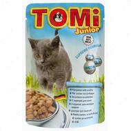 Консервы для котят с мясом птицы TOMi junior