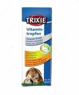 Витамины для грызунов ― капли для укрепления иммунитета предназначены для кроликов и мелких грызунов Vitamin Drops