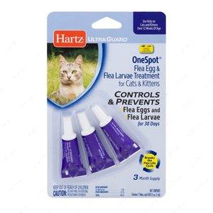 Капли для кошек от личинок и яиц блох ULTRA GUARD One Spot Treatment for Cats and Kittens