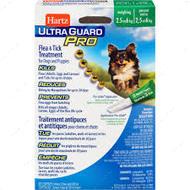 Капли от блох, блошиных яиц, клещей и комаров для собак от 2,5 до 6 кг Ultra Guard Pro Flea&Tick Drops for Dogs and Puppies 5 в 1