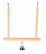 Качеля для попугаев Swinging Trapeze with Bell