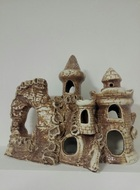 Керамическая крепость с двумя башнями