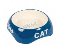 Керамическая миска для кошек