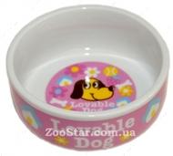 Керамическая миска для кошек  и собак