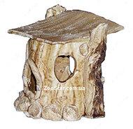 Керамический  домик для водяной черепахи