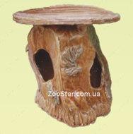 """Керамический  домик для водяной черепахи """"Скала"""""""