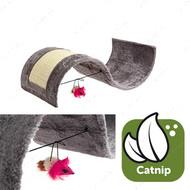 """""""KITTY WAVE"""" когтеточка для кошек игровая площадка с игрушкой, волна"""