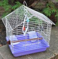 """Клетка для птиц """"Шарлотта"""", эмаль"""