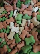 Печенье Микс Мини Косточки для щенков и маленьких собак Knochen Mini 4er Mix