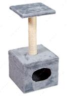 Когтеточка - дряпка  для кошек Домик Д1
