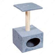 Когтеточка - дряпка  для кошек С большим домиком Д11