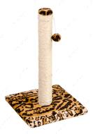 Когтеточка - дряпка  для кошек Столбик Д00