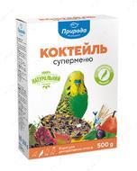 Коктейль Суперменю корм для волнистых попугаев