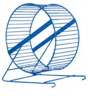 Колесо барабан металлический малый, синий