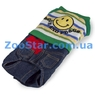 Комбинезон зеленый с джинсами, размер 2