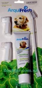 Комплект для ухода за зубами для собак