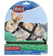 Комплект шлейка и поводок для кролика Rabbit Harness with Leash