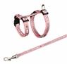 Комплект шлейка и поводок для карликовых кроликов Harness with Leash for Small Rabbits