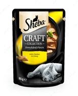 Влажного корм для котов - курица в соусе Sheba CRAFT cig POU
