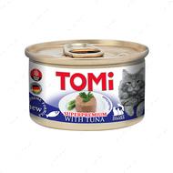 Консервы для котов с тунцом мусс TOMi Tuna