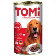 Консервы для собак ТОМИ ГОВЯДИНА супер премиум корм TOMi Beef