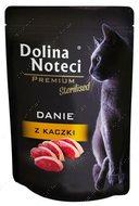 Консервы для стерилизованных котов с мясом утки Dolina Noteci Premium Sterilised Danie
