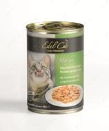 Консервы для котов с индейкой и печенью Edel Cat Mit Truthahn und Leber