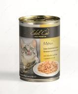 Консервы для котов с курицей и уткой Edel Cat Mit Hahnchen und Ente
