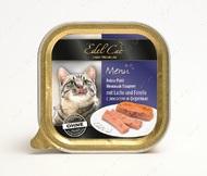 Паштет для котов с лососем и форелью Edel Cat Pate Mit Lachs und Forelle